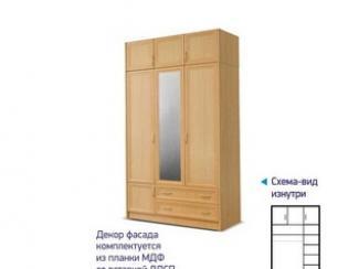 Шкаф 1314 с антресолью МДФ-Р - Мебельная фабрика «Премьер мебель»