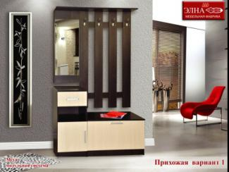 Прихожая Мега вариант 1 - Мебельная фабрика «Элна»