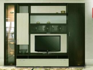 Гостиная стенка Эконом 10 - Мебельная фабрика «Победа»