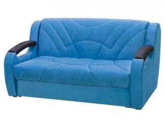 Синий диван Феникс