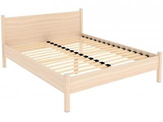 Простая кровать в спальню Арт. 615 - Мебельная фабрика «Уют сервис», г. Санкт-Петербург