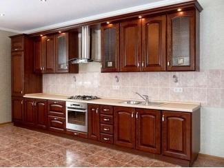 Кухня из массива KMS 4 - Мебельная фабрика «FSM (Фабрика Стильной Мебели)»