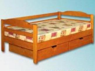 Кровать детская 1 ярус с ящиками