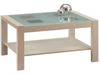 Стол журнальный со стеклом - Мебельная фабрика «Боровичи-Мебель»