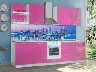 Розовая кухня  - Мебельная фабрика «Прима-сервис», г. Белгород