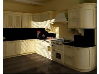 Светлая кухня классика Кантри 3 - Мебельная фабрика «Аркадия-Мебель»