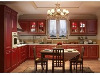 Кухня из массива Дуба Аврора  - Мебельная фабрика «Симкор»