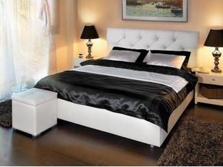 Простая кровать Моника  - Мебельная фабрика «Askona»