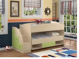 Кровать-чердак Дюймовочка-4/3 - Мебельная фабрика «Формула мебели»