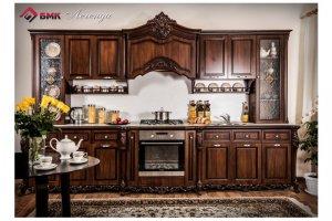 Кухня прямая в классическом дизайне Легенда - Мебельная фабрика «Буденновская мебельная компания»