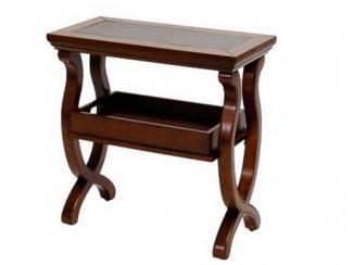 Стол журнальный деревянный с подносом-1624 - Импортёр мебели «МебельТорг»