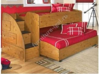 Детская двухъярусная кровать  - Изготовление мебели на заказ «Игал»