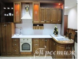 Кухня из массива дерева PRESTIJ - Мебельная фабрика «Престиж»