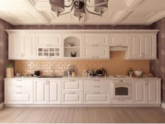 Элитная светлая кухня  - Мебельная фабрика «Стрела»