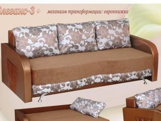 Диван прямой Элеганс 3 - Мебельная фабрика «Росмебель»