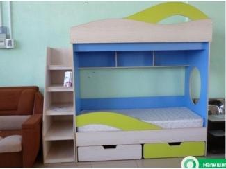 Детская двухъярусная кровать  - Мебельная фабрика «На Трёхгорной»