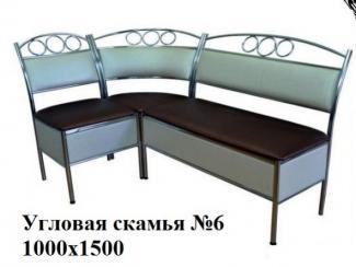 Кухонный уголок 6 - Мебельная фабрика «Максимум-хром»