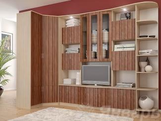 Гостиная стенка Рафаэль с угловым шкафом - Мебельная фабрика «Январь»