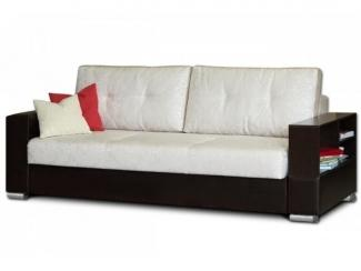 Черно-белый прямой диван Наполи  - Мебельная фабрика «Могилёвмебель», г. - не указан -