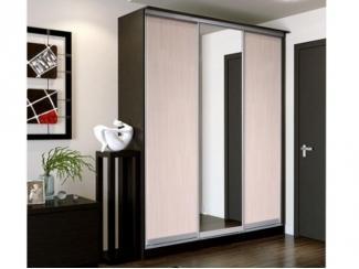 Шкаф-купе 3 створки с зеркалом Стандарт 2 - Мебельная фабрика «Грааль»