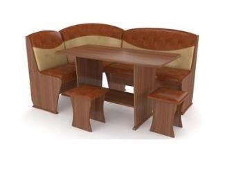 Кожзам кухонный уголок Консул 2 - Импортёр мебели «RedBlack (Малайзия, Турция, Китай)»