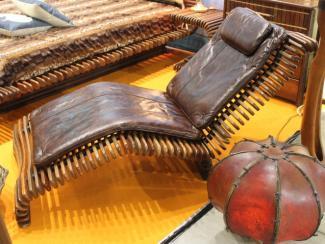 Мебельная выставка Москва: кресло шезлонг