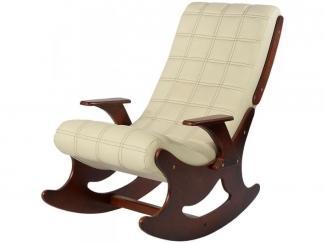 Кресло-качалка El Grosso Beige арт. 11152BG - Импортёр мебели «Кембали (Индонезия)»