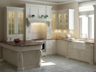 Кухонный гарнитур угловой Брикет
