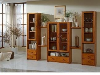 Гостиная из массива сосны 5 - Мебельная фабрика «Дубрава»