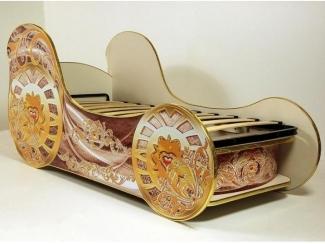 Кровать для девочек Карета-МИНИ - Мебельная фабрика «ViVera»
