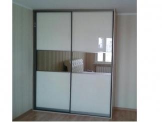 Светлый шкаф-купе  - Мебельная фабрика «Люкс-С»