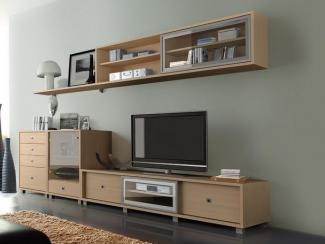 Гостиная стенка Капри 3 - Мебельная фабрика «Стайлинг»