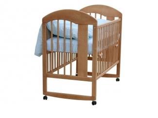 Детская кровать-качалка Луна  - Мебельная фабрика «Гном», г. Брянск