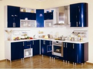 Глянцевая угловая кухня  - Мебельная фабрика «Перспектива»
