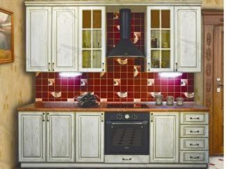 Кухонный гарнитур прямой Люкс - Мебельная фабрика «Фарес»