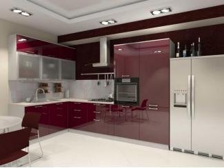 Акриловая кухня Джордана - Мебельная фабрика «Derli»