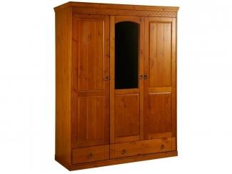 Трехстворчатый шкаф №2 серии Дания - Мебельная фабрика «Timberica»
