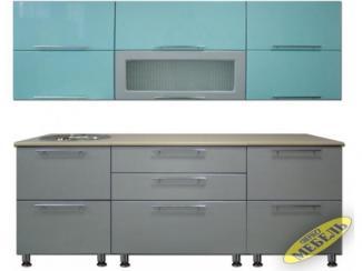 Кухня прямая 15 - Мебельная фабрика «Трио мебель»