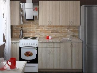 Прямая светлая кухня Валерия - Мебельная фабрика «Центр мебели Интерлиния»