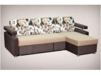Новый диван с оттоманкой  - Мебельная фабрика «Олеся», г. Киров