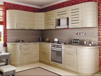 кухня угловая Анастасия тип 3 Сонома - Мебельная фабрика «Любимый дом (Алмаз)»