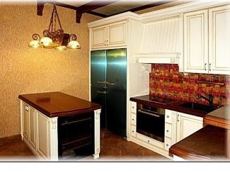 Угловая кухня из бука - Мебельная фабрика «Мебель Парк» г. Москва