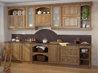 Кухня Дубрава массив - Мебельная фабрика «Гармония мебель»