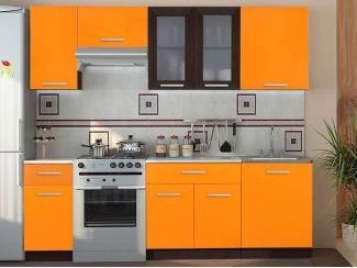 Кухонный гарнитур ЛДСП оранжевый - Мебельная фабрика «Вся Мебель»