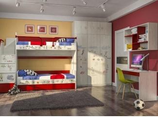 Детская модульная Актив 5 - Мебельная фабрика «Сканд-Мебель»