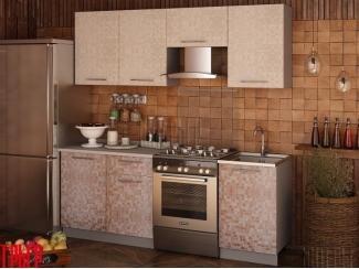 Кухня София 2,1м МОЗАИКА Ваниль/Какао - Мебельная фабрика «Интерьер-центр», г. Пенза