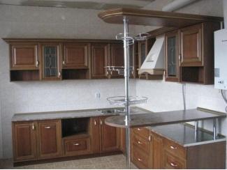 Кухня угловая с барной стойкой - Мебельная фабрика «Альфа-Мебель»