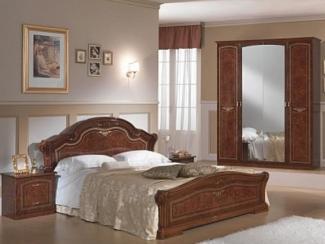 Спальный гарнитур «Ирина орех» - Оптовый мебельный склад «Дина мебель»