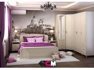 Спальня в светлых тонах Виктория