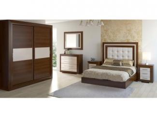 Мебель для спальни в коричневом цвете - Импортёр мебели «Spazio Casa», г. Москва